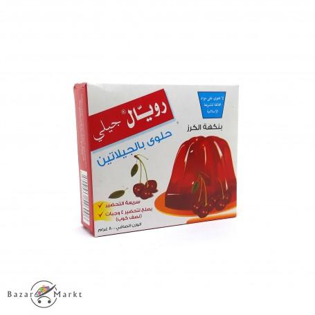 Gelatin Dessert Cherry flavour Royal Jelly 80Gr