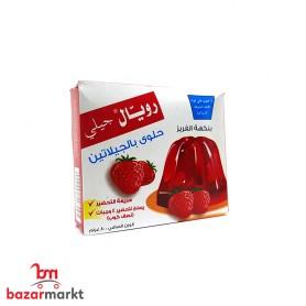 Gelatin Dessert Strawberry flavour Royal Jelly 80Gr