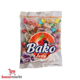 حلوى الجيليه شطي مطي بطعم الفواكة باكو 200 غرام