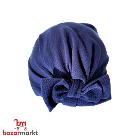 توربان حجاب للإمرأة المحجبة /لون كحلي/