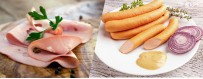 Mortadella and sausages